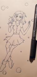 Bubbly sketch
