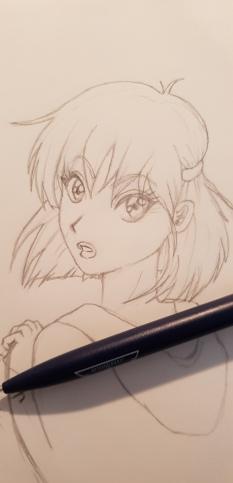 Short haired girl